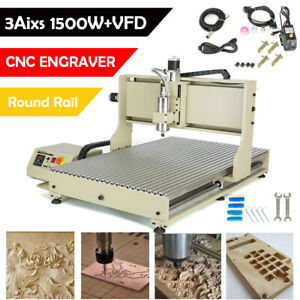 Steel Usb 3 Axis Cnc 6090 Router Engraver Metal Wood Carving Machine Drilling Us