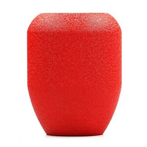 Shift Solutions Wrinkle Red Tr 470 Grams Piston Shift Knob Weighted 12x1 25mm