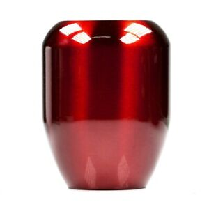 Shift Solutions Candy Red Tr 470 Grams Piston Shift Knob Weighted 12x1 25mm