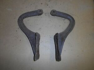 1937 Chevrolet Coupe Trunk Hinges