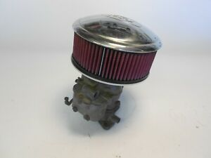 Air Cleaner For Holley 94 Two Barrel Custom Made From Hub Cap