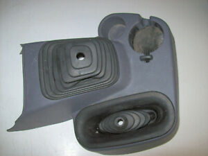 1994 2002 Dodge Ram 4x4 Manual Floor Shifter Boot Center Console Cup Holder Gray