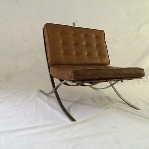 Vintage Early 1950 S Mies Van Der Rohe Industria Argentina Barcelona Chair