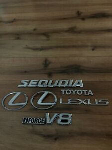 Sequoia Toyota Lexus Emblem Lot