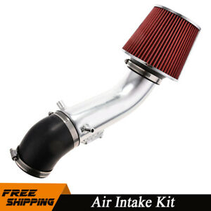 For 2006 2011 2008 Honda Civic Si Model 2 0l L4 Cold Air Intake Kit Red Filter