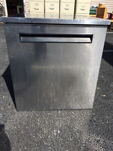 Delfield Model 406 star4 Stainless Steel Single Door Undercounted Cooler Refrige