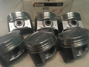 Jeep Cherokee 4 0 4 0l 242 Sealed Power Cast Pistons Set 1987 95 677cp 020