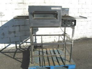 Lincoln 1116 Single Deck Gas Conveyor Oven Pizza 1 Phase
