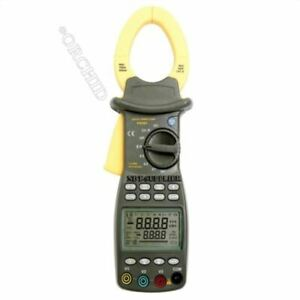 Three Phase Digital Power Clamp Meter Multimeter With Pc Rs 232 Interface Et