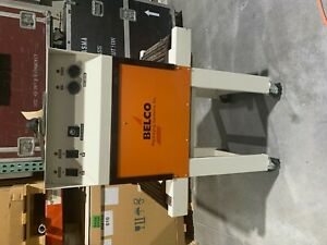 Belco Shrink Wrap Tunnel Model St188 Packaging Systems 240v 35 Amps