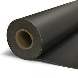 1 Lb 4 X 8 Mass Loaded Vinyl 32 Sq ft Roll Black Sound Blocking Mlv