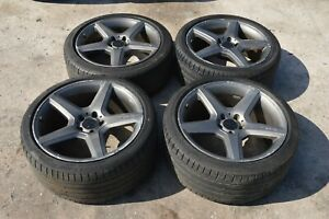 2006 Mercedes Cls55 Amg Rims Wheels Tires 19 Inch Staggered Offset