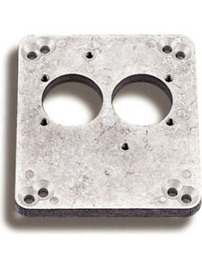 Holley Carburettor Adapter Spread Bore To 2 barrel Pro jection Raw 17 41