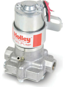 Holley Fuel Pump Electric Red Marine External Bracket Included 712 801 1