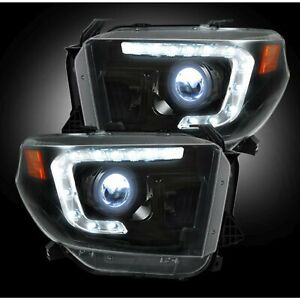Recon 264294bkc Projector Headlights Car And Truck Parts Universal Fitment
