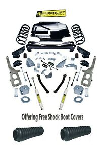 Superlift 2008 2010 Fits Jeep Grand Cherokee 4wd With Sl Rear Shocks Lift Kit 4