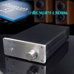 Hifi 30wx2 lm1875 68wx2 lm3886 Amplifier Bluetooth 5 0