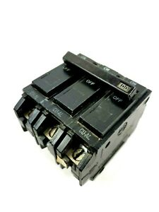 Ge General Electric Thqb Circuit Breaker 100 Amp 240 V 3 Pole