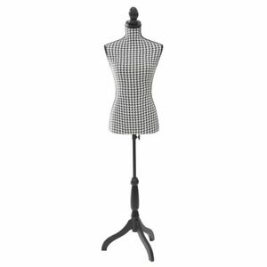Adjustable Height Jersey Covered Female Dress Form