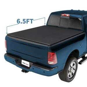 6 5ft Tri Fold Tonneau Bed Cover For 2009 2018 Dodge Ram 1500 03 18 2500 3500