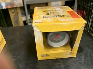 Autometer Ultra Lite Mechanical Fuel Pressure Gauge 2 1 16 And Fuel Line