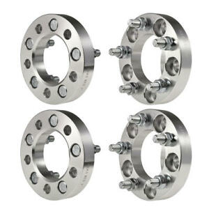 4 1 Wheel Spacers 5x4 5 For Ford Mustang Taurus Lincoln Mkx Jeep Liberty 1 2