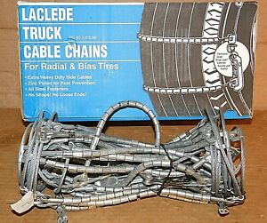 Laclede Truck Cable Tire Snow Chains Stock 2019 tc Never Used