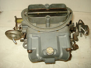 C 2 Corvette 1967 Tri Power Center Carb Holley 3660