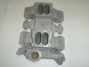 5183 Offenhauser 360 Dual Quad Intake Manifold For 371 394 Oldsmobile 1959 1964