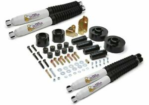 Daystar Jeep Tj Wrangler 3 Lift Kit With Bump Stops Transfer Case Drop Track
