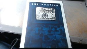 1944 Coca Cola Our America Motion Pictures Booklet Teaching Aid