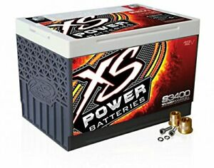 Xs Power S3400 S Series 12v 3 300 Amp Agm Automotive Starting Battery With Ter