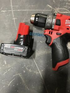 New Milwaukee 2504 20 M12 12v Fuel 1 2 Brushless Hammer Drill 4 0 Battery