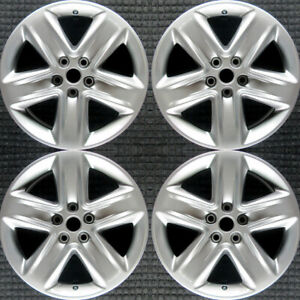 Set 2010 2011 2012 Ford Fusion Oem Factory Ae5z1007a 18 Silver Wheels Rims 3800