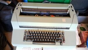 Ibm Selectric Ii Correcting Typewriter on off Clr set Switches Are Missing
