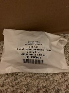 10 3m 481 Construction Seaming Tape 2 In X 5 Yd Free Shipping 10 Rolls