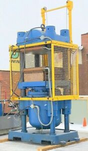 132 Ton Hydraulic Molding 4 Post Electric Platen Press