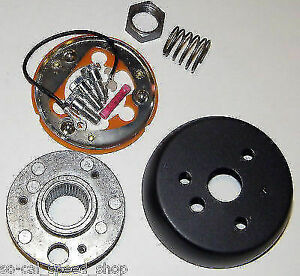 1958 1960 Ford Pickup Steering Wheel 3 Bolt Adapter Kit Truck Hot Rod Rat F100