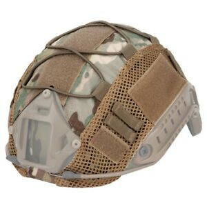 500D Tactical Helmet Cover for FAST Helmet Camo Hunting Airsoft Headwear Gear