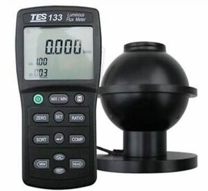 Tes 133 Luminous Flux Meter Auto Ranging From 0 05 To 7000 Lumens New Tes133 Nc