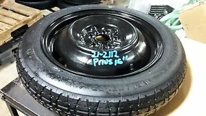 10 11 12 13 14 15 16 17 Toyota Prius Spare Tire Wheel Donut 16 5x100 Plug In