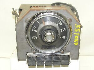 Vintage Radio Deluxe 8 Tube For 1955 Ford Car Model 5bf 580639