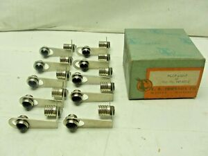 10 Nos E f Johnson Vintage Auto Dash Light Rat Rod Gasser Hot Rod 32 Ford