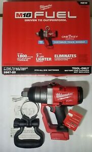 Milwaukee M18 Fuel 1 Dr High Torque 1800 Ft Lb Impact Wrench One Key 2867 20