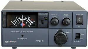 Tekpower Tp50sw 50 Amp 13 8v Analog Dc Power Supply With Cigarette Plug