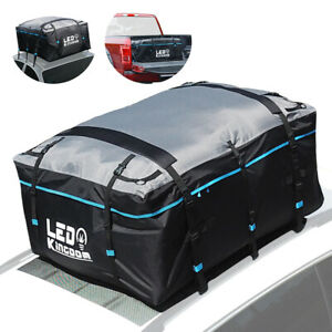 Roof Top Cargo Bag Waterproof Truck 19cft 600d Coating Soft Shell Carrier Bag
