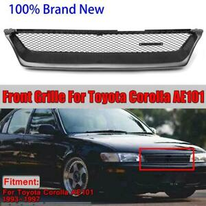 For 1993 1997 Toyota Corolla Ae101 Front Bumper Grill Grille Touring Wagon Style