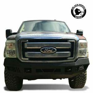Black Horse 11 16 Ford 250 350 Super Duty Armour Front Bumper Protector Afb f211