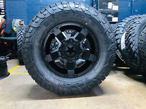 17x9 Xd Xd811 Rockstar 2 33 Fuel At Wheels Rims Tires 6x5 5 For Toyota Tacoma