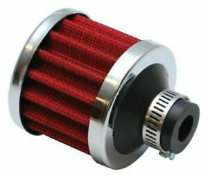 Vibrant Performance Crankcase Breather Filter W Chrome Cap 3 4